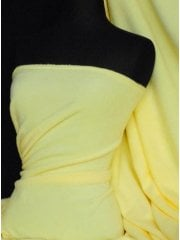 Polar Fleece Anti Pill Washable Soft Fabric- Lemon PF LMN