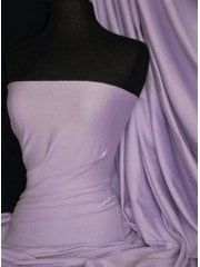 Cotton Lycra Jersey 4 Way Stretch Fabric - Lilac Q35 LIL