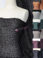 Sweater Knit Acrylic Soft Jumper Fabric- Q971