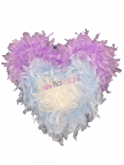 Faux Feather Trimming Assorted Pack- Pastels ST18