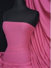 Cotton Lycra Jersey 4 Way Stretch Fabric- Cerise Pink Q35 CRS