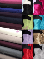 Crushed Velvet/Velour Stretch Material Wholesale Roll- JBL492