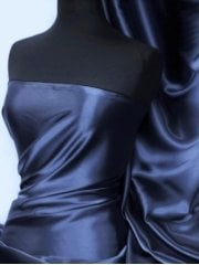 Super Soft Satin Fabric- Ink Q710 INK