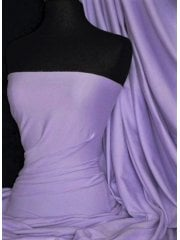 Cotton Lycra Jersey 4 Way Stretch Fabric - Lavender Q35 LVD