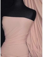 Matt Lycra 4 Way Stretch Fabric- Peach Q56 PCH