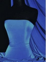 Silk Touch 4 Way Stretch Lycra Fabric- Cornflower Blue Q53 CBL