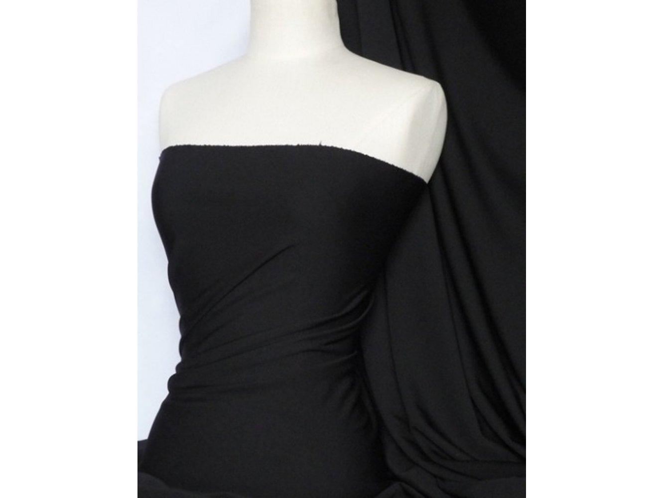 Scuba Stretch Poly Lycra Fabric- Teal Blue Q792 TLBL