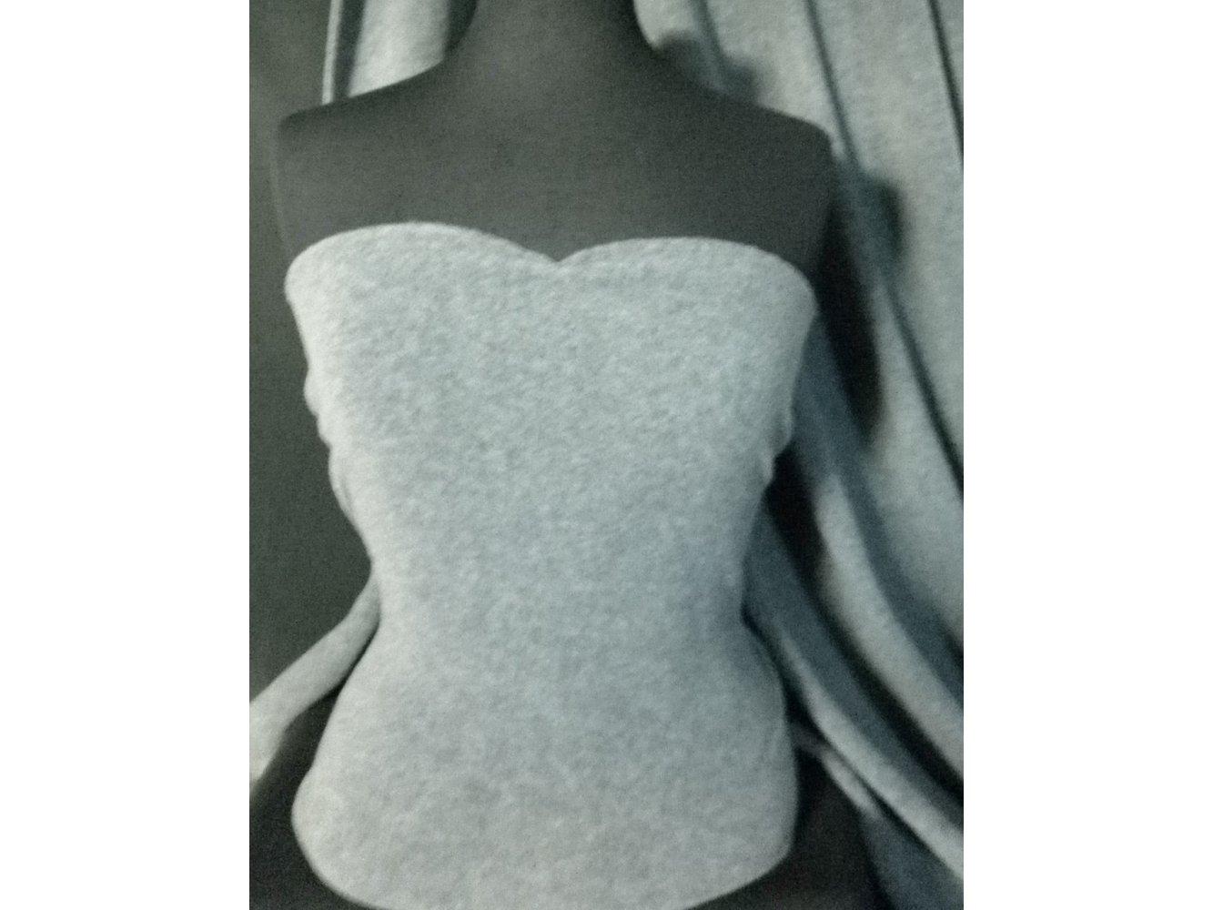 Polar Fleece Anti Pill Washable Soft Fabric- Khaki PF KH