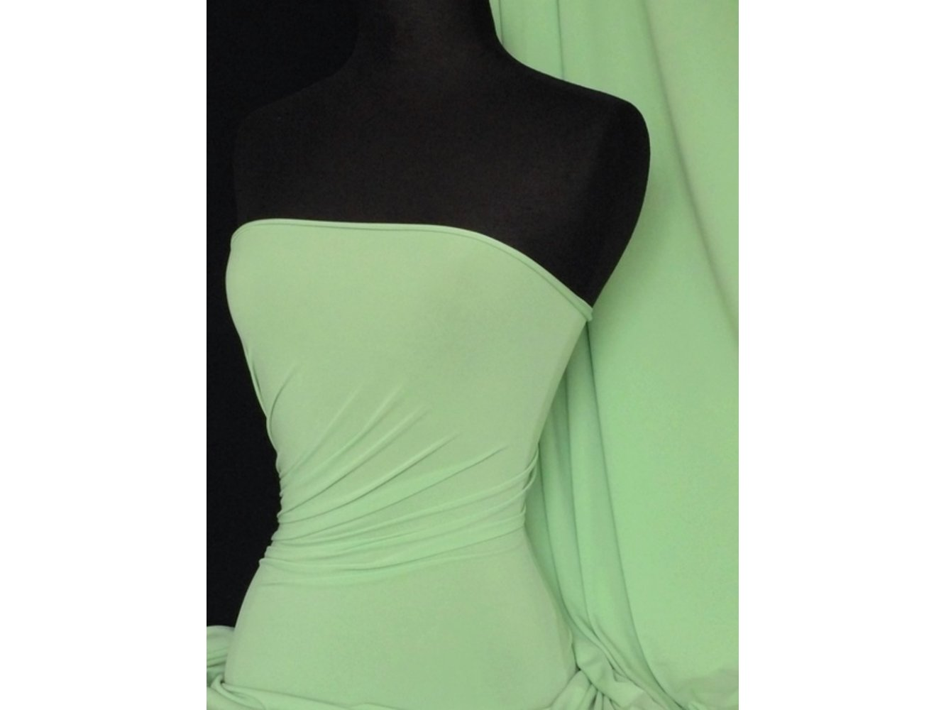 Soft Touch 4 Way Stretch Lycra Fabric- Jade Q36 JD END OF