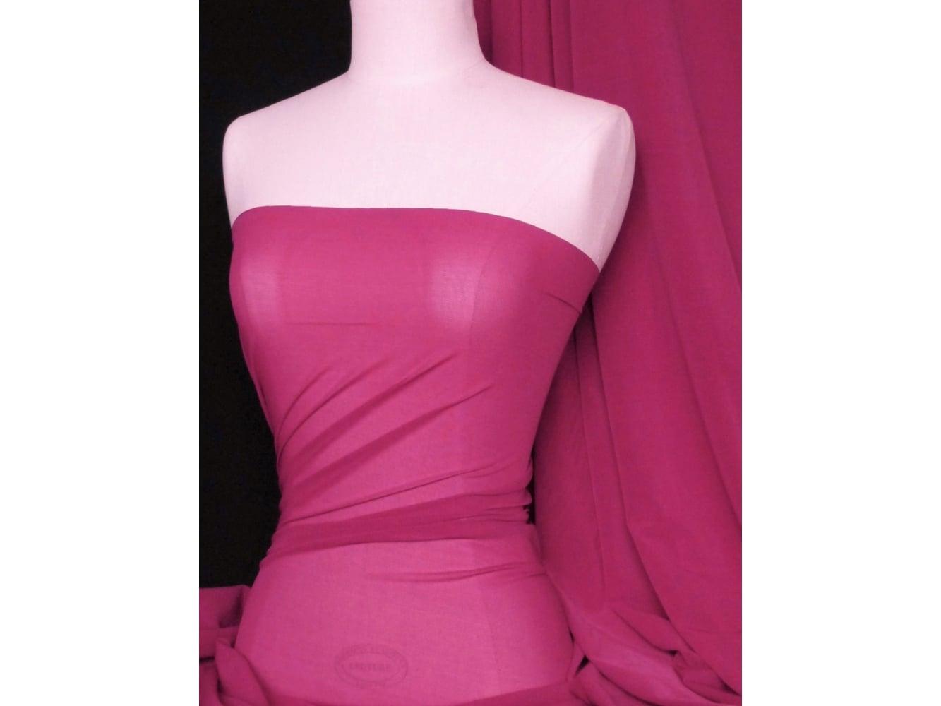 LT Power Mesh 4 Way Stretch Material- Baby Pink 109 LT BPN