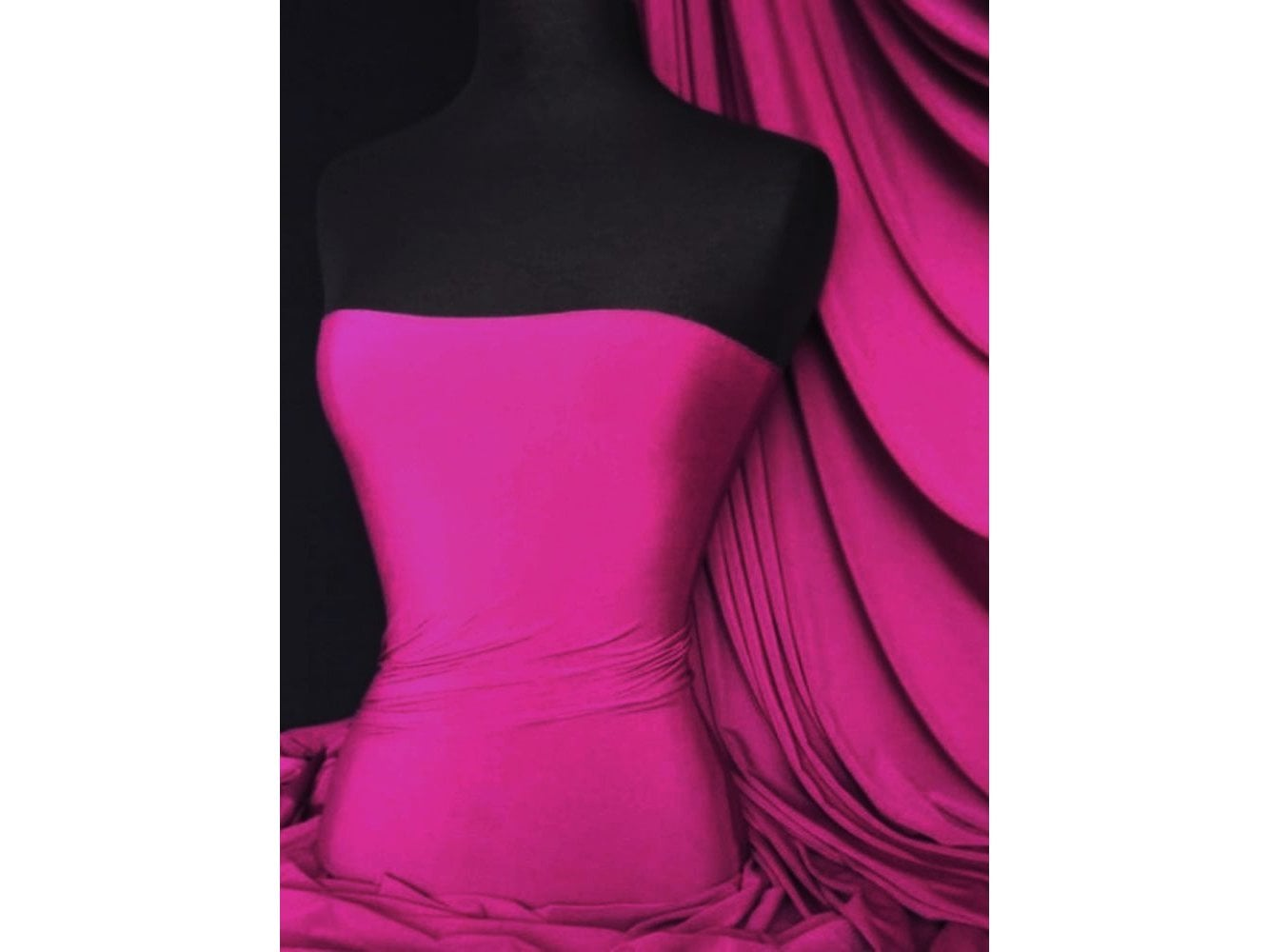 Soft Touch 4 Way Stretch Lycra Fabric- Rose Pink Q36 RPN