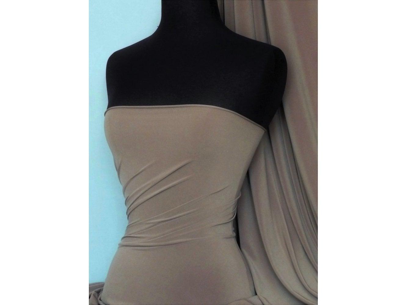 Purple 4 Way Stretch Soft Touch Fabric