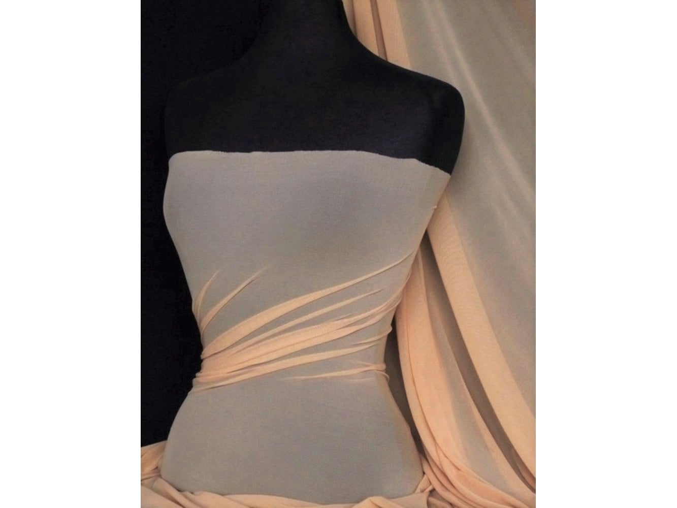 LT Power Mesh 4 Way Stretch Material- Nude 109 LT ND